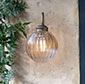 Putney Bathroom/Outdoor Wall Light in Antiqued Brass