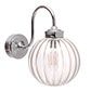Putney Bathroom/Outdoor Wall Light in Nickel