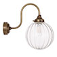 Putney Wall Light in Antiqued Brass