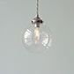 Compton Glass Pendant Light in Polished