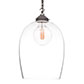 Chalford Glass Pendant Light in Polished