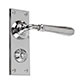 Chester Handle, Bristol Privacy Plate, Nickel