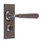 Chester Handle, Bristol Privacy Plate, Polished