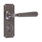 Chester Handle, Ilkley Privacy Plate, Polished