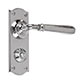Chester Handle, Nowton Privacy Plate, Nickel