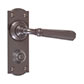 Chester Handle, Nowton Privacy Plate, Polished