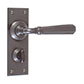 Chester Handle, Ripley Privacy Plate, Polished