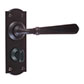 Bromley Handle, Nowton Privacy Plate, Matt Black