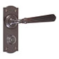 Bromley Handle, Nowton Privacy Plate, Polished