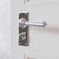 Bromley Handle, Ripley Privacy Plate, Nickel
