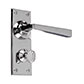 Manson Handle, Bristol Privacy Plate, Nickel