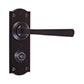 Manson Handle, Nowton Privacy Plate, Matt Black