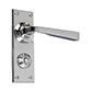 Manson Handle, Ripley Privacy Plate, Nickel