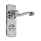 Regency Handle, Ilkley Privacy Plate, Nickel