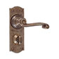 Regency Handle, Nowton Privacy Plate, Antiqued Brass