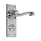 Regency Handle, Ripley Privacy Plate, Nickel