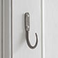 10cm Barn Wall Hook in Polished