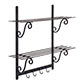 Hitcham Shelves in Matt Black