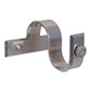 38mm Chapel Centre Bracket with thumbscrew inMercury