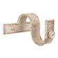 38mm Chapel Centre Bracket with thumbscrew in OldIvory
