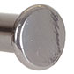 20mm Button Finial in Mercury