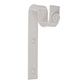 25mm Chapel Standard Bracket with thumbscrew inClay
