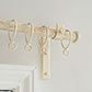 25mm Chapel Standard Bracket with thumbscrew inOld Ivory