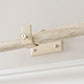 25mm Chapel Centre Bracket in Old Ivory