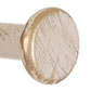 12mm Button Finial in Old Ivory