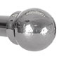 38mm Cannonball Finial in Mercury