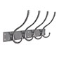 Chandler Coat Hook Rack in Polished