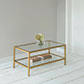 Cromer Coffee Table in Old Gold