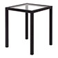 Cromer Side Table in Matt Black