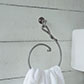 Hatton Towel Ring in Polished