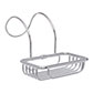 Stratford Roll Top Soap Basket in Nickel