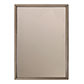 Stamford Vintage Glass Mirror in Lacquered Antiqued  Brass