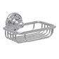 Bletchley Soap Basket in Nickel