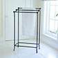 Small Tallow Towel Rail in Matt Black