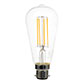 BC (B22) Squirrel Cage LED Filament Bulb, Dimmable