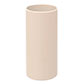 38mm dia x 80mm Ivory Candle Tube