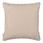 Longford Gingham Cushion Cover in Natural