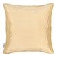 Plain Silk Cushion Cover in Buttermilk