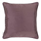 Plain Silk Cushion Cover in Heather